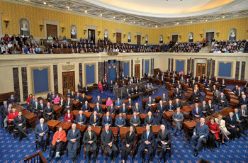US Senate class photo.