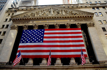 The US Stock Exchange.