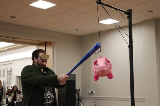 "Ohio Northern University tried to ""smash the debt"" with a fun piñata."