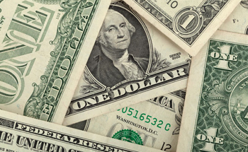 The US dollar is a strong currency.