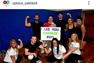 "Oakland University's ""Fiscally Fit"" campaign."
